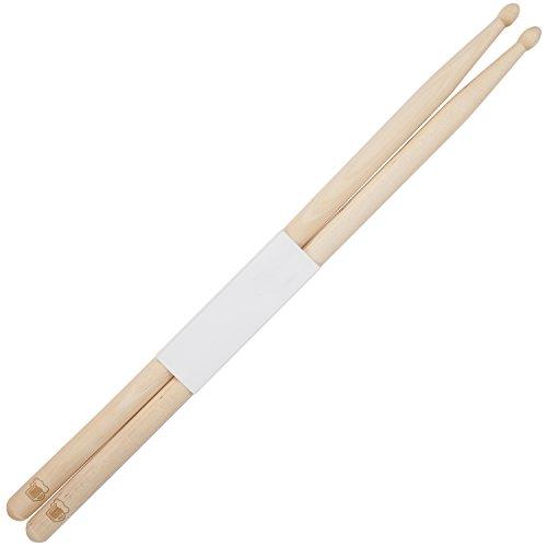 - Beer Pint 5B Maple Drumsticks With Laser Engraved Design - Durable Drumstick Set With Wooden Tip - Wood Drumsticks Gift