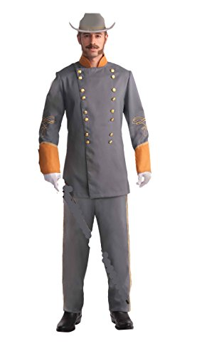 66093 ((Standard)) Confederate Officer Costume Robert E Lee (Confederate Costume)