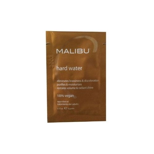 Price comparison product image Malibu C Hard Water Wellness Hair Remedy, 0.17 oz.