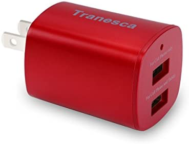 Tranesca Compatible Charger Foldable More Red product image