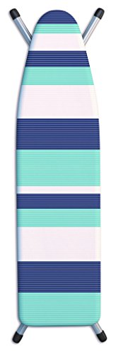 Laundry Solutions by Westex Deluxe Triple Layer Extra-Thick Stripe Tonal Design Ironing Board Cover, 15
