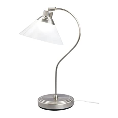 Ikea 801.962.44 Kroby Work Lamp with Glass, Nickel Plated ...