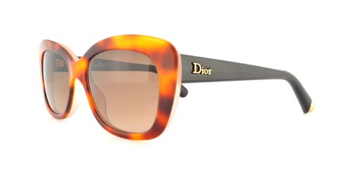 Dior Womens Cd Promesse 3/S Sunglasses (CD PRO) Pink/Brown Acetate - Non-Polarized - - C Dior Sunglasses