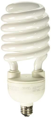 (TCP 2896827741K CFL Spring Lamp - 300 Watt Equivalent (only 68w used!) Cool White (4100K) MEDIUM (e26) Base Spiral Light Bulb - 277-volt)