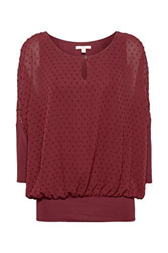 Blusa Mujer Para bordeaux Esprit Red Rojo 600 Tw0pxBP6q