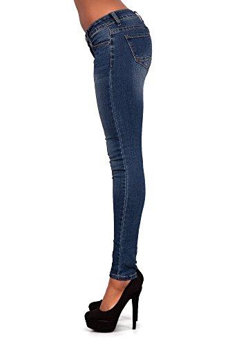 Lustychic Jeans Blue Lustychic Jeans Blue Lustychic Donna Jeans Donna BrWUEBqw6x
