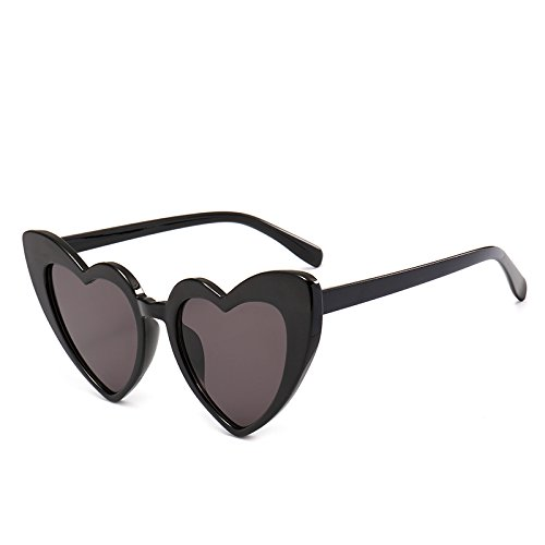 Gris Negro Heart Lens C4 C1 Clear Sunglasses Eyewear Sexy New Women Black Shape Fygrend Pink For 9218 Vintage Sun Woman PinkGray Glasses Accessories Bq14nw