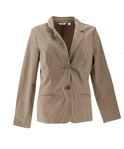Liz Claiborne NY Blazer Pockets Mocha 10 New A263463