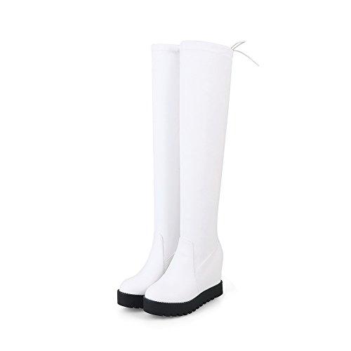 ANDku01901 - A Collo Alto Donna, Bianco (White), 35