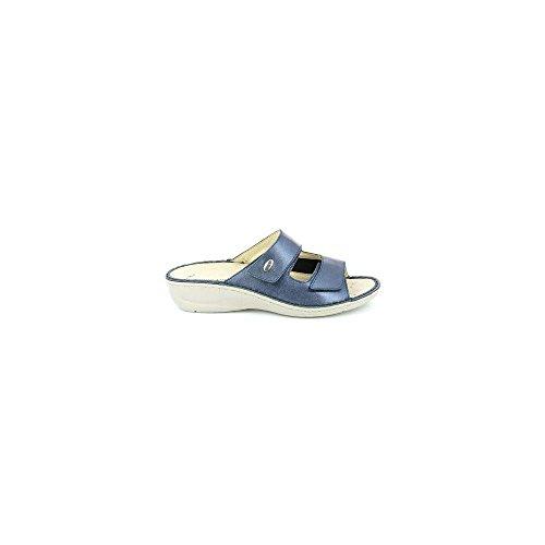 Donna DARA Ciabatta Blu P CE0567 Grunland qU0wnTPC