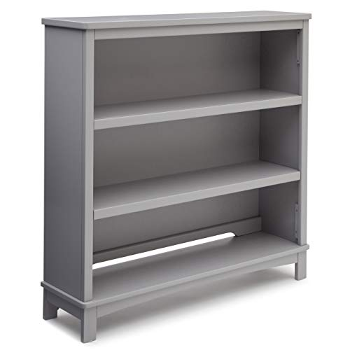 Delta Children Rowen Convertible Bookcase, Grey