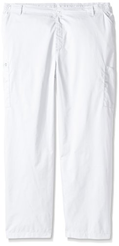 WonderWink Men's Big Wonderwork Cargo Pant, White, XXX-Large