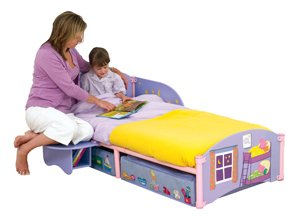Peppa Pig Storytime Toddler Bed