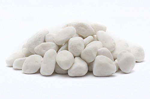Rainforest 5 lb. Snow White Mini Pebbles 1 Cm (Small Space Patio Ideas)