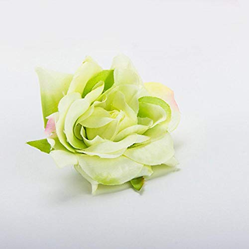 Aosreng Mini PE Foam Roses Multi-Use Artificial Flower Heads Handmade DIY Wreath Wedding Decoration Home Garden Supplies Blue from Aosreng