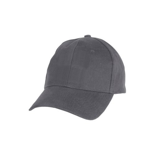 Chef Works CWXBCCAGRY0 Solid Baseball Cap, Poly & Cotton, Gray