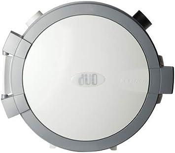 Allaway DUO - Aspiradora central, color blanco y negro, Blanco ...