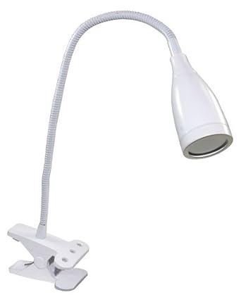 white led clip desk light flexi goose neck directional. Black Bedroom Furniture Sets. Home Design Ideas