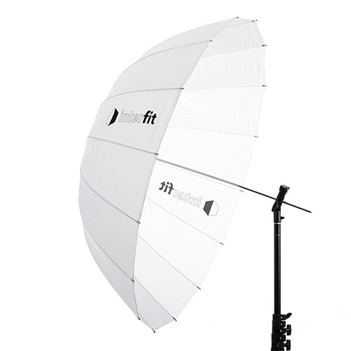 41'' Translucent Parabolic Umbrella by Interfit