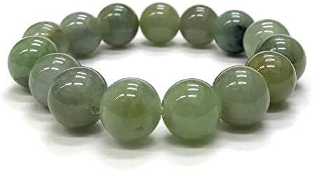 ミャンマー 翡翠 ブレスレット (16.5cm) 219 限定品 1点物 天然石 パワーストーン