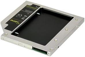 LEICKE - Adaptador DUAL SATA 2.HDD/SSD 9,5 mm, para disco duro ...