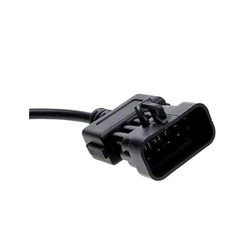 MyCor-Media Adapter f/ür Opel OBD1 10 PIN auf OBD2 16 Pin Stecker Diagnose Adapter Kabel