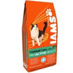 Iams Hairball Care Dry Cat Food 4lb, My Pet Supplies