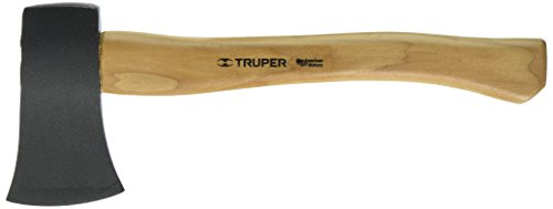 (Truper 30514 1-1/4-Pound Camp Axe, Hickory Handle, 14-Inch)