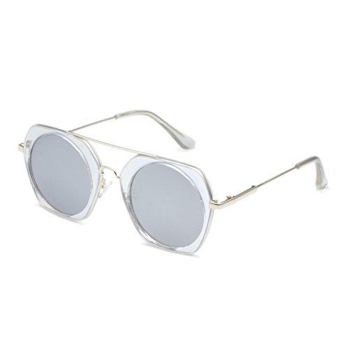 amp; Rondes Protection 6 Couleur Facultatif Femmes Des Soleil x52 amp;lunettes Lunettes couleur Lym De Multi 5 dWT1Udg