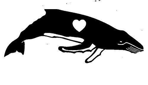 Humpback Whale Heart Love Rubber Stamps custom stamps rubber Rubber Stamps custom stamps rubber