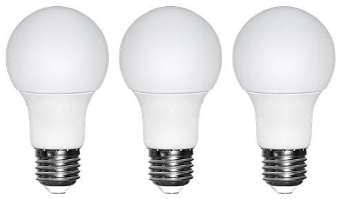 3 E27 LED Equivalente a 40 W bombillas incandescentes, Blanco cálido 3000 K, 5