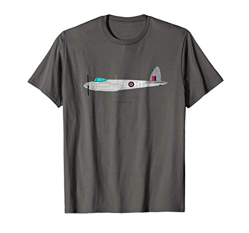 Twin Mosquito Engine (De Havilland Mosquito World War Two Fighter Bomber T-Shirt)