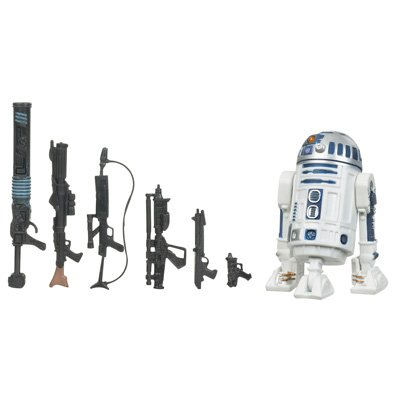 STAR WARS R2-D2 The Legacy Collection (Star Wars Dc 15 Blaster Rifle Toy)