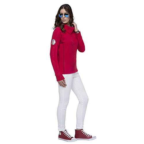 Donna Felpa Rosso Rosso Donna Nebulus Felpa Donna Felpa Nebulus Nebulus 1Uqd6xP