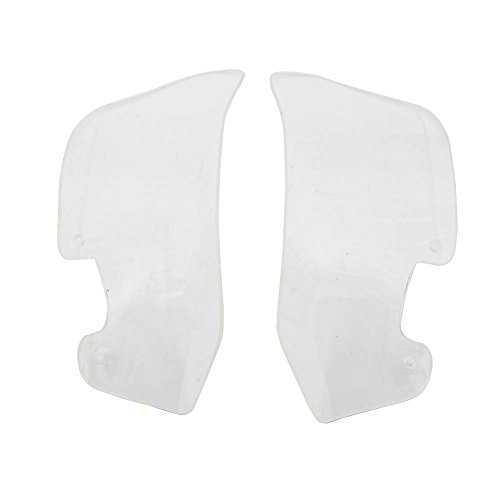 Alpha Rider Motorcycle WIND DEFLECTORS Windshield Side WindScreen Airflow Panel For BMW R1200GS R 1200GS ADV GS1200 2004 - 2012 Transparent