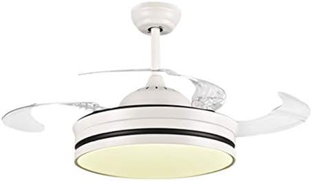 NIUZIMU Ventiladores de Techo LED con lámpara Interruptor ...