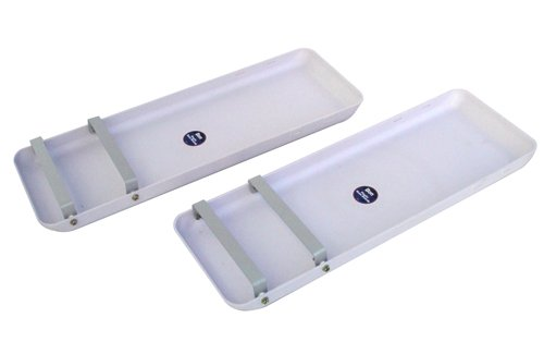Bon 82-396 ABS Plastic Knee Boards with Pads, 1-Pair