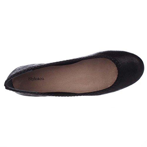 amp; Toe Almond Style Co Ballet Black Flats Womens ciara dqwRqFZ