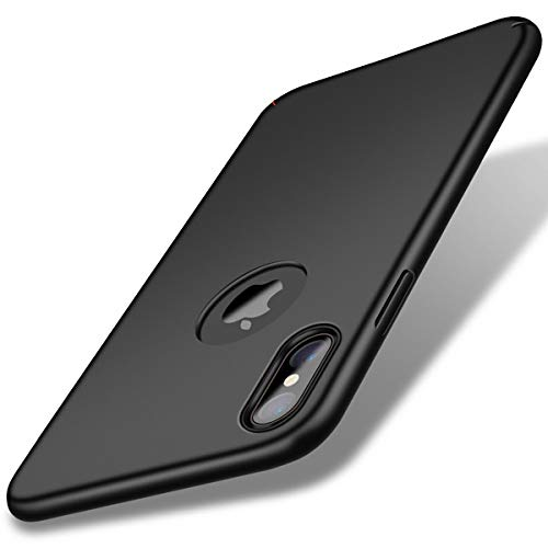 Eartonx Slim Fit Shell, Hard Plastic PC Ultra Thin Mobile Phone Cover Case Compatible for iPhone X (5.8