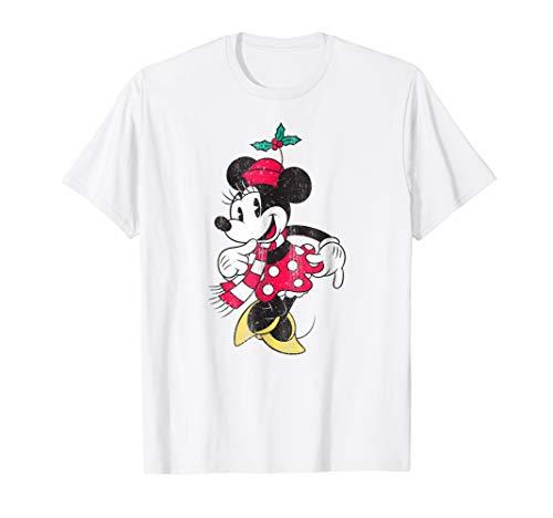 Disney Minnie Mouse Christmas T Shirt