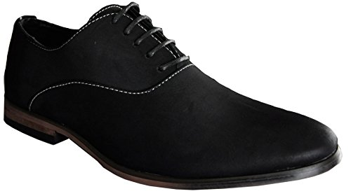 Derbies Homme Casual Noir Uni