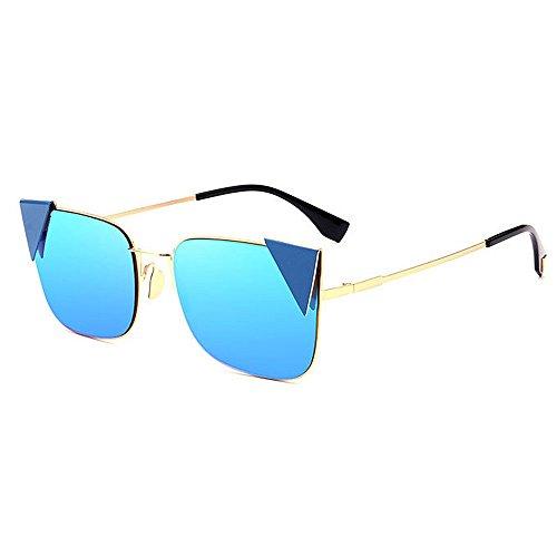Wenjack de Mignonne colorée UV Lunettes Voyager lentille de Les air Lady Les Femmes Ultra en Yeux Chat Soleil Bleu Les de Protection la Femmes pour de légères Plein Conduite rx7rAw