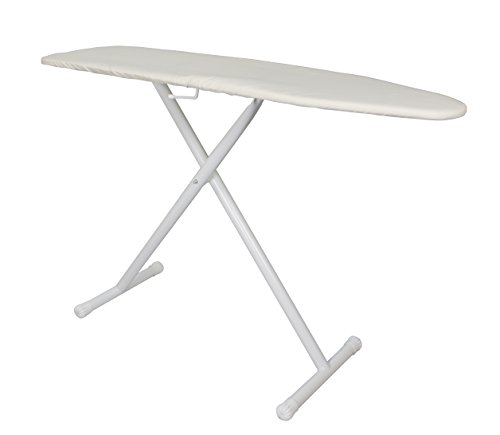 Wholesale Hotel Products IBST-K Deluxe Ironing Board, T-Leg, Light Khaki