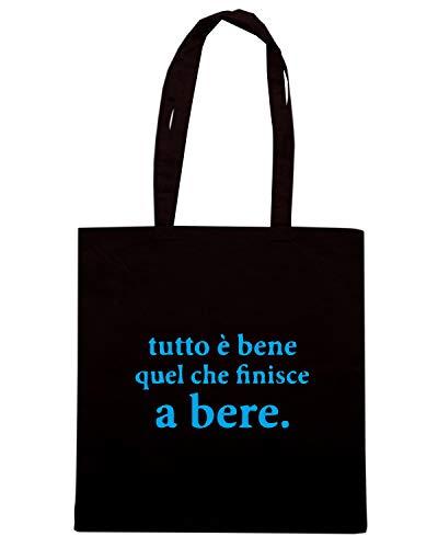Speed Shirt Borsa Shopper Nera BEER0299 TUTTO E BENE