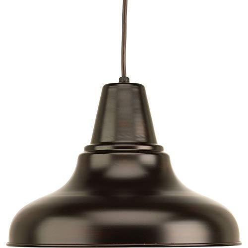 Classic Collection Bronze Pendant - Progress Lighting P5551-20 Traditional/Classic 1-100W Med Hanging Lantern, Antique Bronze