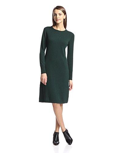 Cashmere Addiction Womens Crewneck Dress