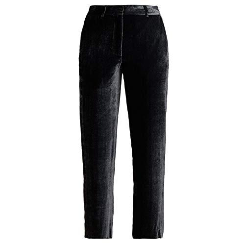 の間で突破口気付く(シエス マルジャン) Sies Marjan レディース ボトムス?パンツ クロップド Willa cropped silk-blend velvet trousers [並行輸入品]