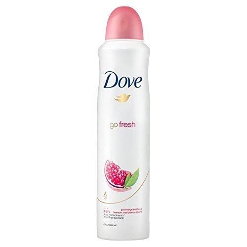 Dove Fresh Antiperspirant Pomegranate Verbena