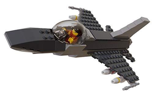F-16 Fighter Jet Model Military Building Set (Jet Fighter Model Kits)