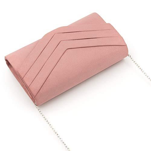 Enveloppe En Pochette Pochette Milisente Soir Femme Daim De Classique Sac 5wXq5EInx